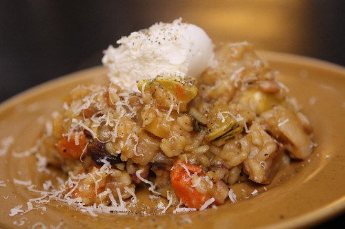 Root Vegetable Risotto with Ricotta and Sage