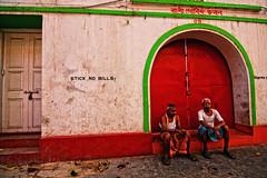 No 58, Radha Gobindo Palace (Sukanta Maikap Photography) Tags: street portrait india doors streetphotography kolkata oldbuilding calcutta oldmen westbengal sticknobills no58 mensitting oldmensitting canon450d tokina1116f28 tokinaatxprosd1116mmf28ifdx radhagobindobhobon radhagobindopalace