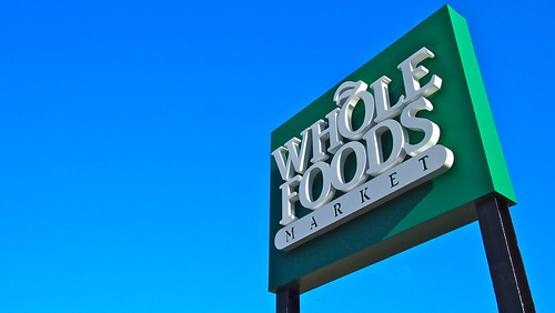 Whole Foods Jamaica Plain Sign by stevegarfield