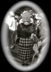 _DSC0885  Pickering War Weekend 2011 (124) (petelovespurple) Tags: girls woman stockings fur army women shoes braces wwii dressup nostalgia 1940s ww2 soldiers reenactment northyorkshire raf vintagecars furs nylons pickering seams seamedstockings landgirls wartimeweekend pickeringwartimeweekend 1416october2011railwayinwartimeweekendnymrwartime1940vintageclothingwartimeweekendnikond90peteepeteellisonuniformshatscapshatcapberetheadscarfveilbowlermilitaryoldvintagereenactorsmotorcyclesjeeps