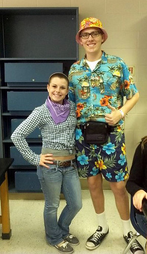 Brian with Lexi on Tourist Day