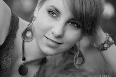 Karin (Norbert Krlik) Tags: portrait bw girl outdoor karin canoneos5d canonef100mmf28macrousm