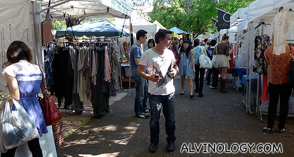 Snooping around Glebe Market