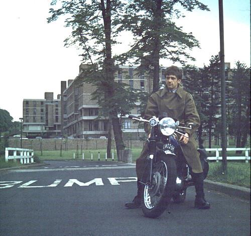 BSA B25 Starfire Birmingham University 1970