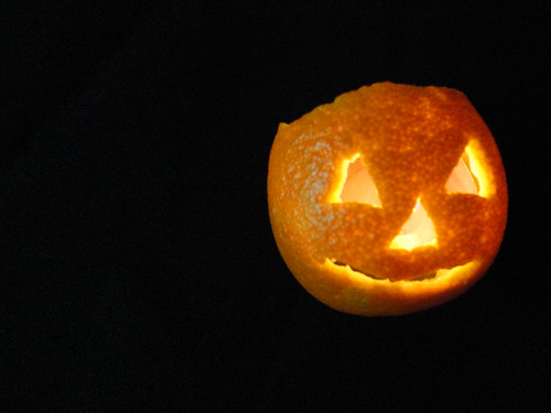 Carved Pumpkin Mandarin 2