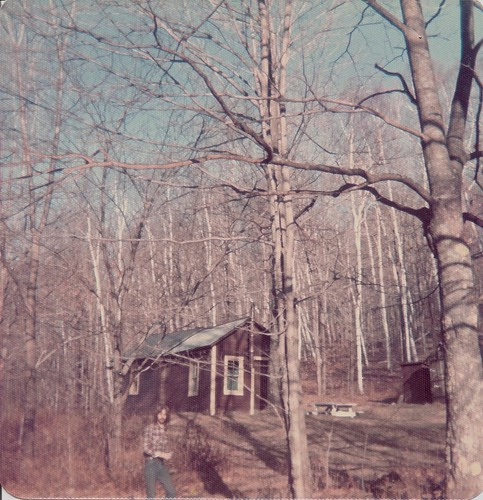 Gregg at the Cabin 1973