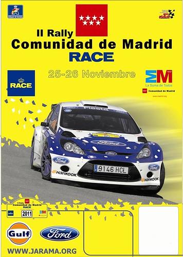 Rallye RACE Comunidad de Madrid 2011
