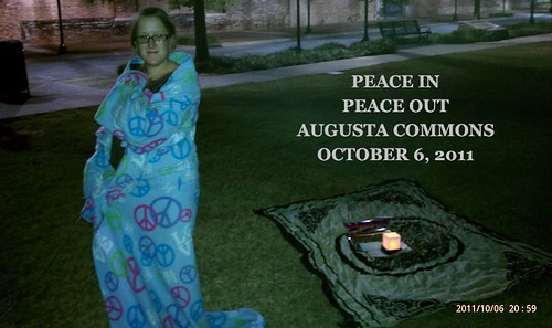 Augustans Call for Peace Oct 6, 2011