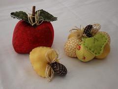Frutas e legumes em patchwork (gigicavinato) Tags: flores frutas natal gatos fuxico coruja patchwork avental cursos chaveiro almofadas promoção jogoamericano bonecosdepano enfeitedemaçaneta básicocostura