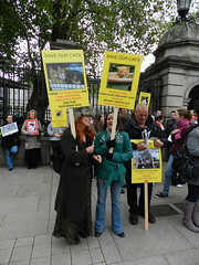 Forgotten Felines protest in Dublin, 20/10/2011