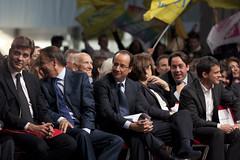 Convention pour l'investiture du candidat socialiste Franois Hollande, le 22 octobe 2011  la Halle Freyssinet  Paris. (Francois Hollande) Tags: 2012 hollande socialiste prsidentielle primaire boccas