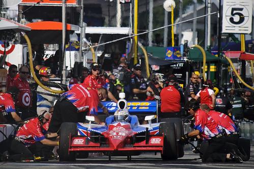 Graham Rahal, pit lane, Honda Indy Toronto 2011