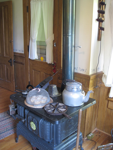 Clayson House stove