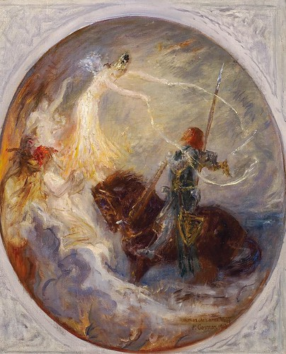 "Fernand Cormon (1845-1924), ""The knight's dream"" by sofi01"