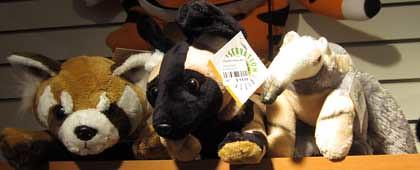 10.22.11 Franklin Park Zoo - Amusing stuffed animals