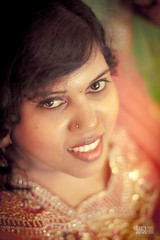Theeba [1] (Daran Kandasamy) Tags: portrait woman girl beautiful beauty face closeup lady female canon hair 50mm model eyes indian gal 7d nosering hindu srilankan earing pottu eoshe