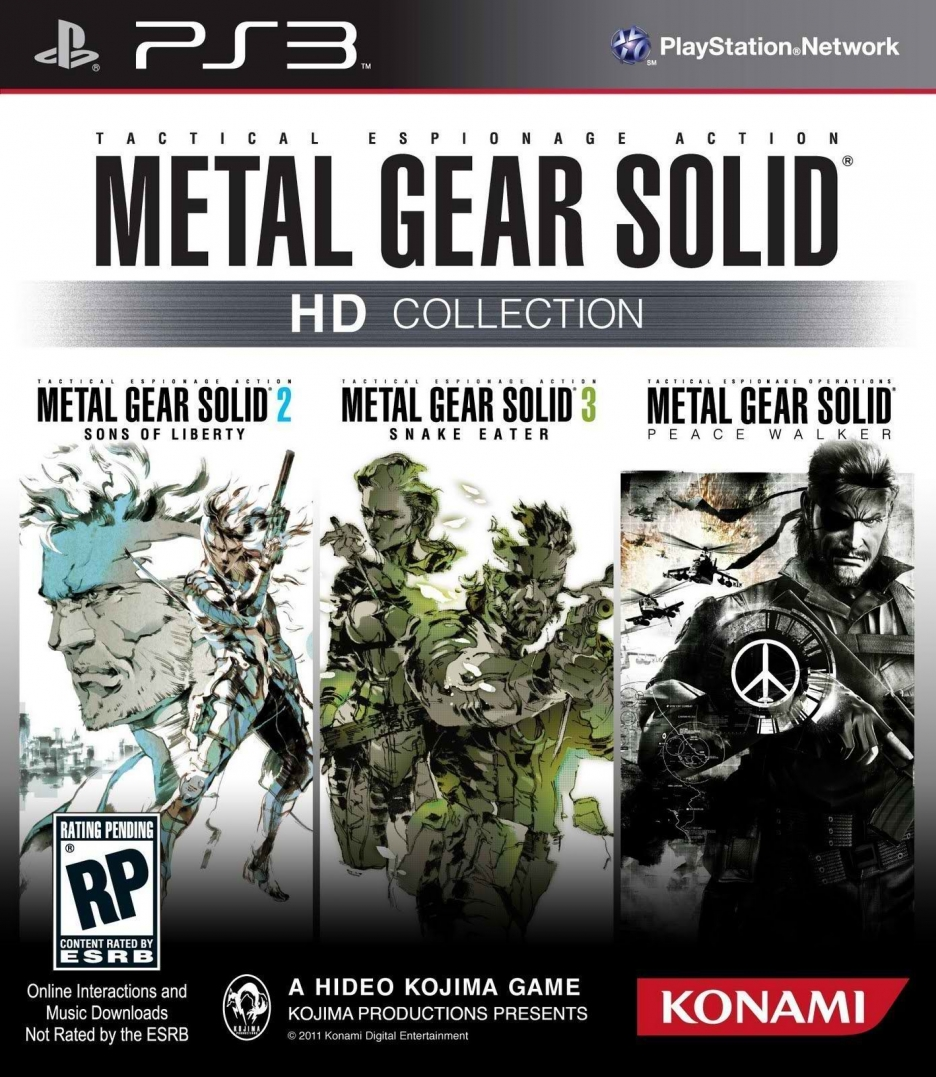 Metal Gear Solid HD Collection PAL Territories Release