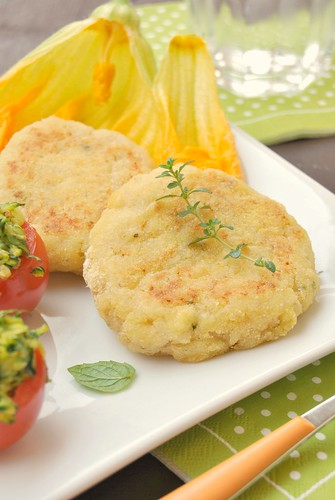 Fish Medallions with Thyme