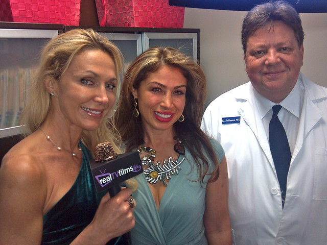 Susie Oliver,Dr. Romina Ghassemi, Opus Medical Center ,Grand Opening in San Pedro