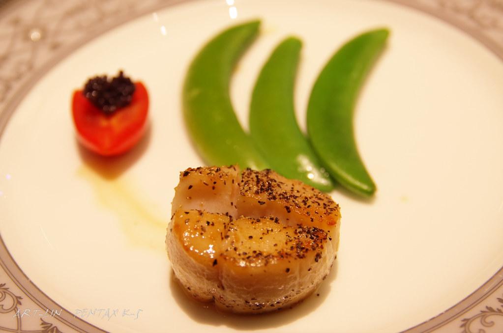 [台北]夜深了~來個吃的吧!!台北101紅花鐵板燒+添財日本料理