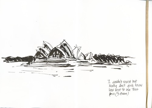 111928 I ended up drawing the Opera House anyway!