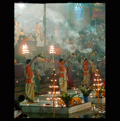 A Fantastic World (designldg) Tags: light people india man festival night river candle colours faith religion culture atmosphere celebration soul devotion varanasi priest devotee hindu dharma hinduism kashi puja ganga ganges benares benaras deeya uttarpradesh gangaaarti  indiasong prayagghat devdiwali