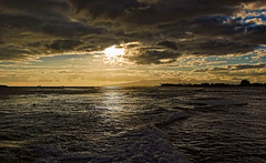 It's Magic (jcc55883) Tags: ocean sunset sky clouds hawaii nikon waikiki oahu magicisland pacificocean alamoana d40 nikond40
