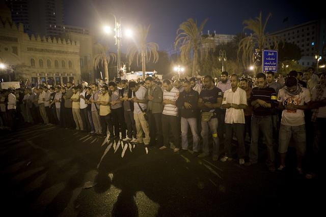 Prayer for Essam Atta صلاة الجنازة على روح الشهيد عصام عطا