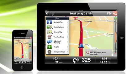 TomTom App optimised for iPad « Tech bytes for tea?