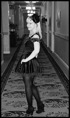 Happy Halloween. (cadvan3) Tags: autumn light portrait blackandwhite woman david cute sexy feet halloween girl beautiful beauty smile face hat dave lady female pose dark hair lights scotland eyes october kiss pretty dress darkness legs skin boots britain dusk witch sony gothic corridor scottish sharon eerie bum lips hydro peebles blonde wife alive blondie dslr newdress lassie a330 borders edson spookey theshining witcheshat scottishborders annesummers thehydro sonya330 dragonista davidedson davidabedson sharonedson yahoo:yourpictures=halloween thehydrohotel yahoo:yourpictures=happiness