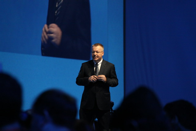 Stephen Elop Is Back On Stage To Wrap Things Up