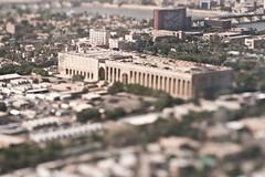 Baghdad: A Model City 9/12 (joshrushing) Tags: lensbaby lumix war iraq baghdad nikkor tilttransformer
