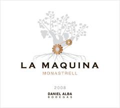 La Maquina Monastrell Label (Daniel Gimenez Alba) Tags: la wine alba daniel label 2008 bodegas maquina yecla monastrell