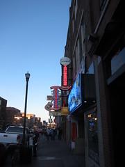 Broadway wieczorem
