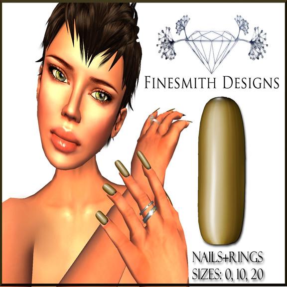 Nails Golden