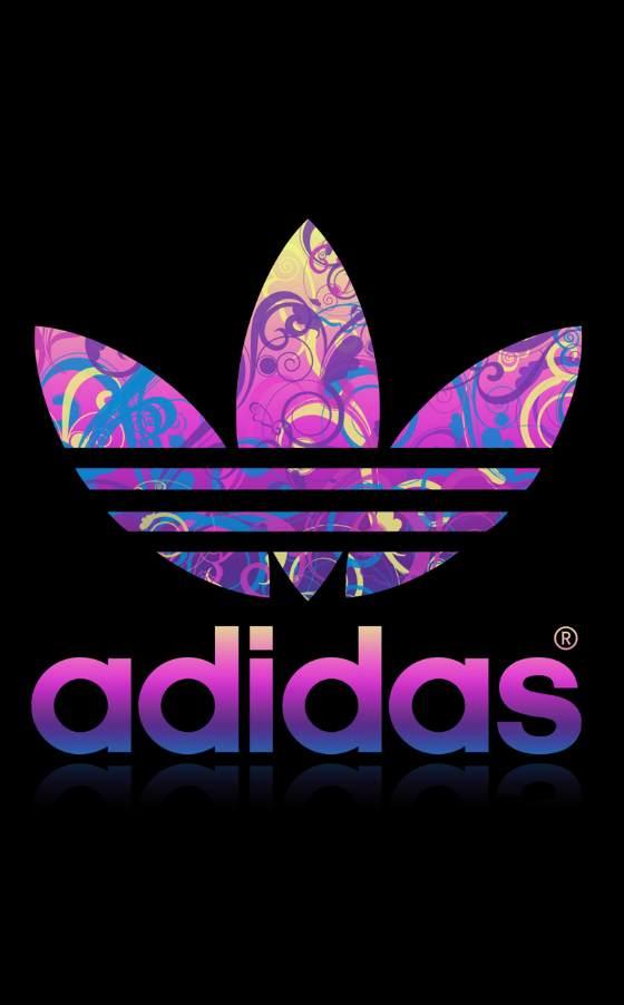 logotipo de adidas intervenido