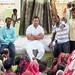 Rahul Gandhi in village chaupal, Sant Ravidas Nagar (27)