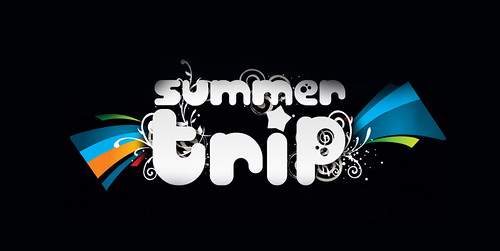 Logo - Summer Trip by chambe.com.br