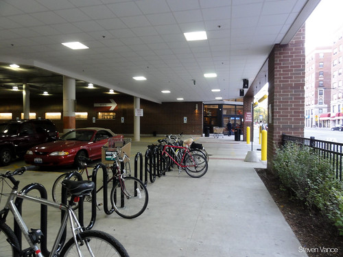 Good bike parking at Dominick's
