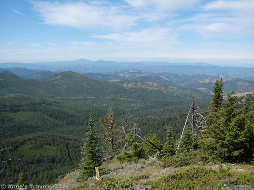 View from Columbia Mountain Colville National Forest Washington