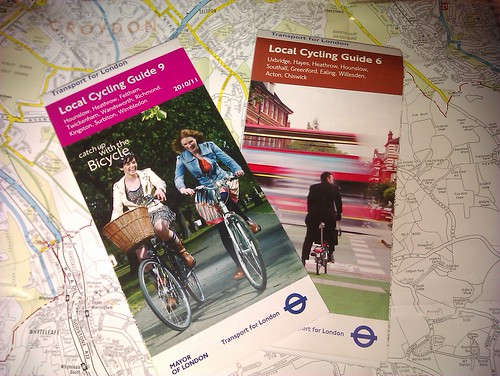 TfL cycling guides