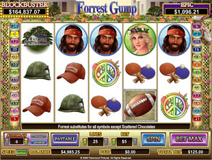 Forrest Gump slot game online review