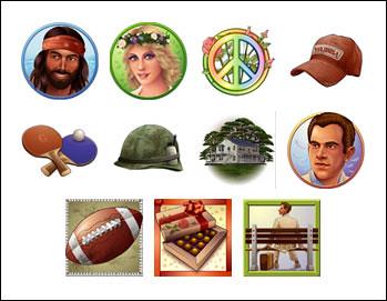 free Forrest Gump slot game symbols