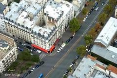 Looking down 59 floors from the top of the Montparnasse Building (Hank LeClair) Tags: paris france eiffeltower versailles hank montparnasse lelouvre leclair