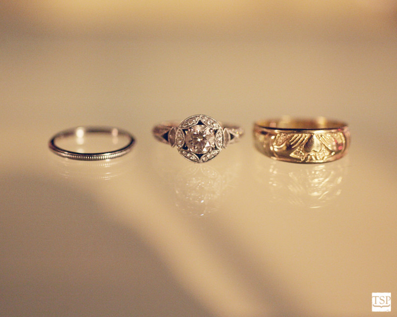 Floating Wedding Rings