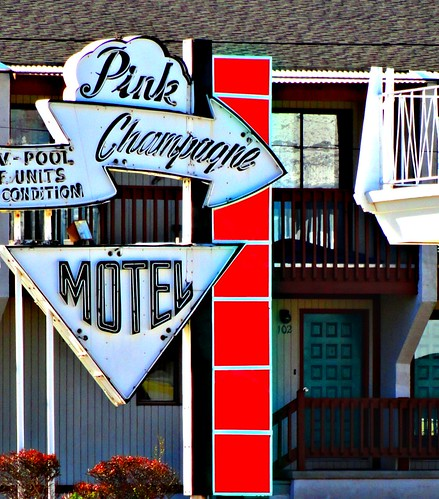 pink champagne motel, wildwood nj