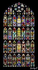 St. Luke Chelsea Window Detail (sparkeyb) Tags: light london church window parish religious nikon chelsea quiet respect god faith prayer religion pray belief stainedglass altar serenity nikkor hdr stainedglasswindow 18mm 18105mm d7000 stlukechelsea sparkeyb