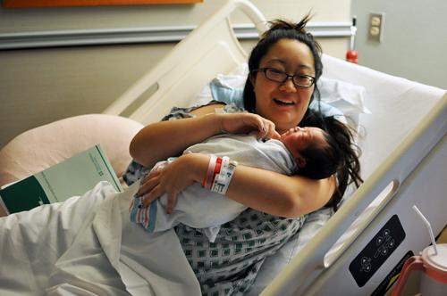 Bebbeh and Momma!