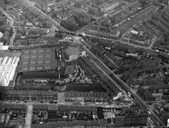 Short Strand Aerial Photograph Belfast Early 1970s (Cold War Warrior) Tags: belfast northernireland troubles shortstrand ballymacarrett opbanner