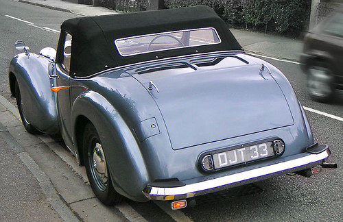 1949 Triumph Roadster 2000 trafficator